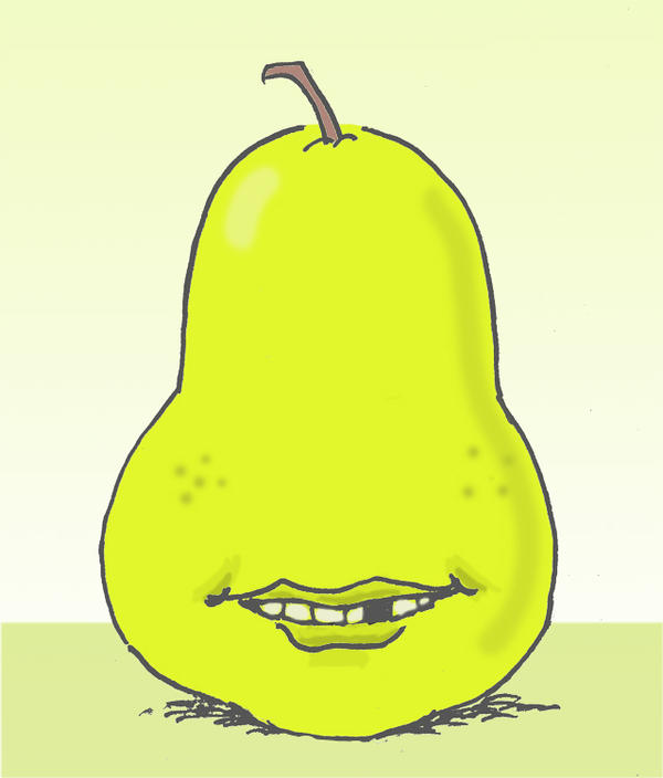 Alfred E Pear by kentcj