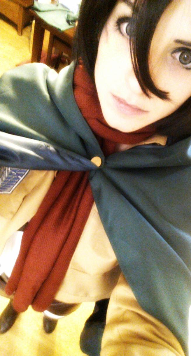 Mikasa Ackerman by AftermathsReflection