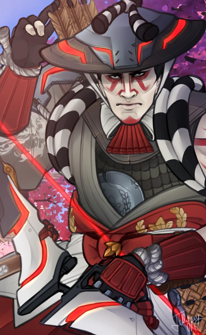 Kabuki Hanzo by Jellygay