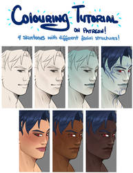 Colouring Tutorial: Patreon preview