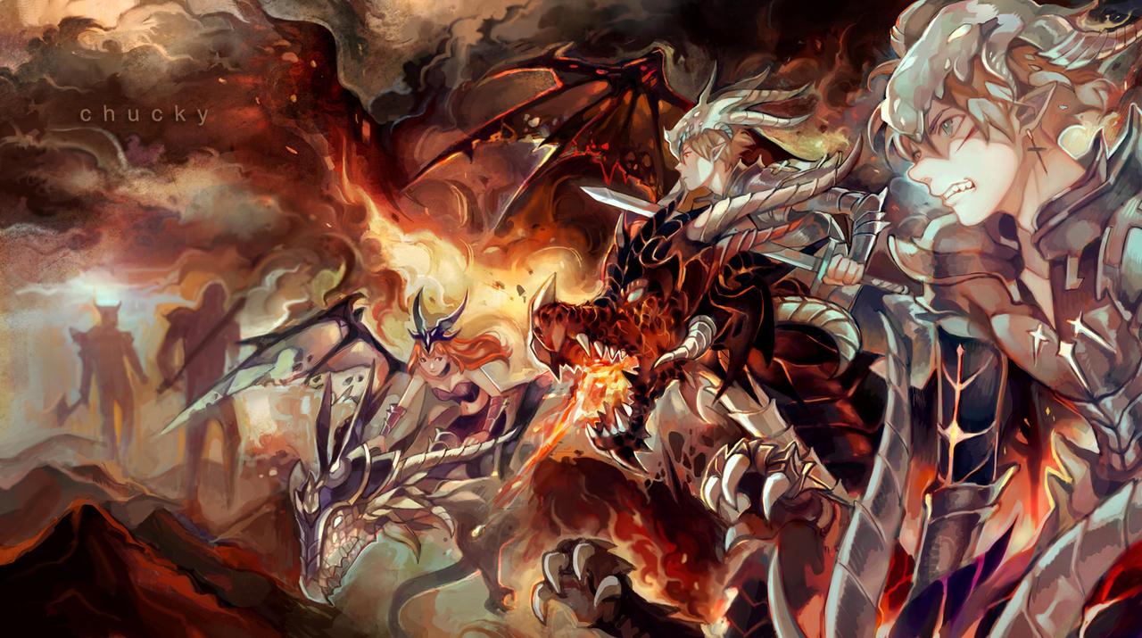 Dragon Knights by Chucky-tan