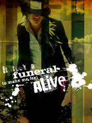 'It took a funeral..'