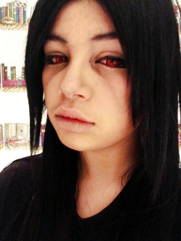 Cosplay makeup: Uchiha...
