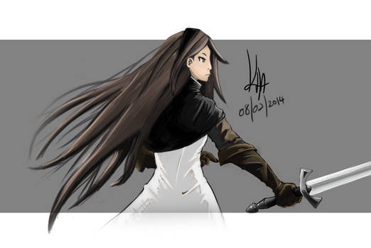 Agnes Fan Art - Bravely Default