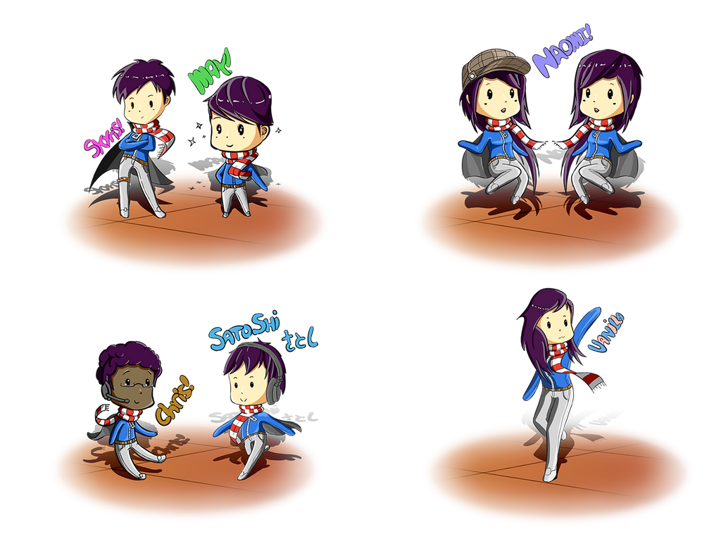 First time Chibis