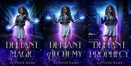 The Defiant Series .:Book Cover Available:.