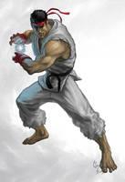 Ryu Street Fighter by Lloyd-Blindman