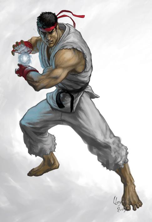 Ryu Street Fighter By Lloyd Blindman On Deviantart