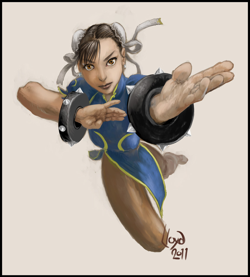 Chun-Li Strong by Lloyd-Blindman