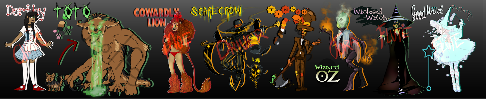 [OPEN OTA: 4/8] Wizard of Oz Adopts by FIute