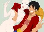 Luffy and Girl base