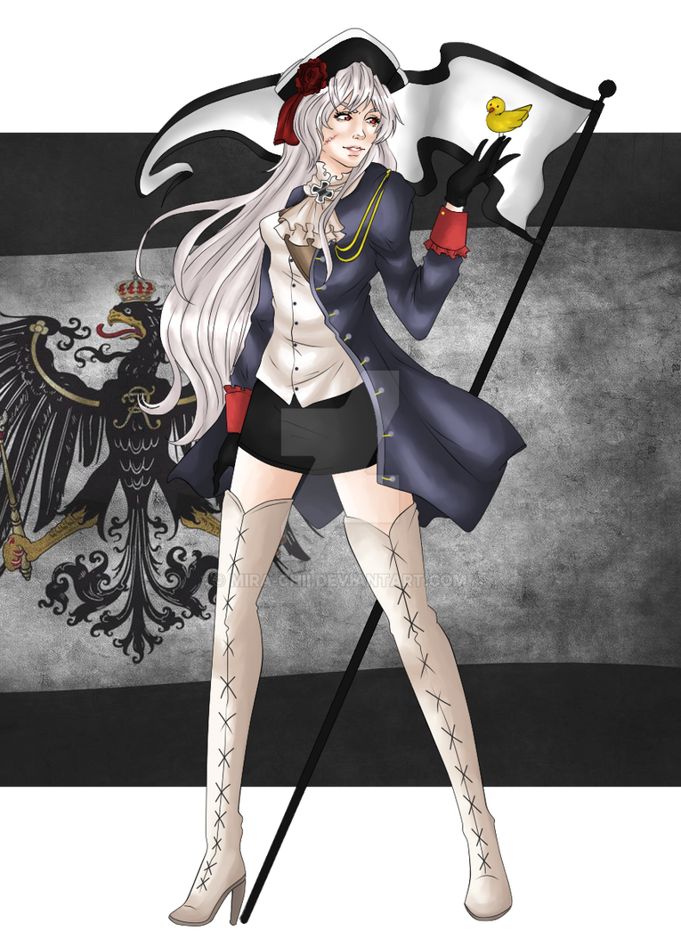 APH- Female Prussia by Mira-chii