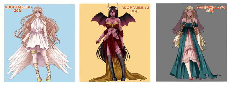 Adoptables - fantasy- OPEN