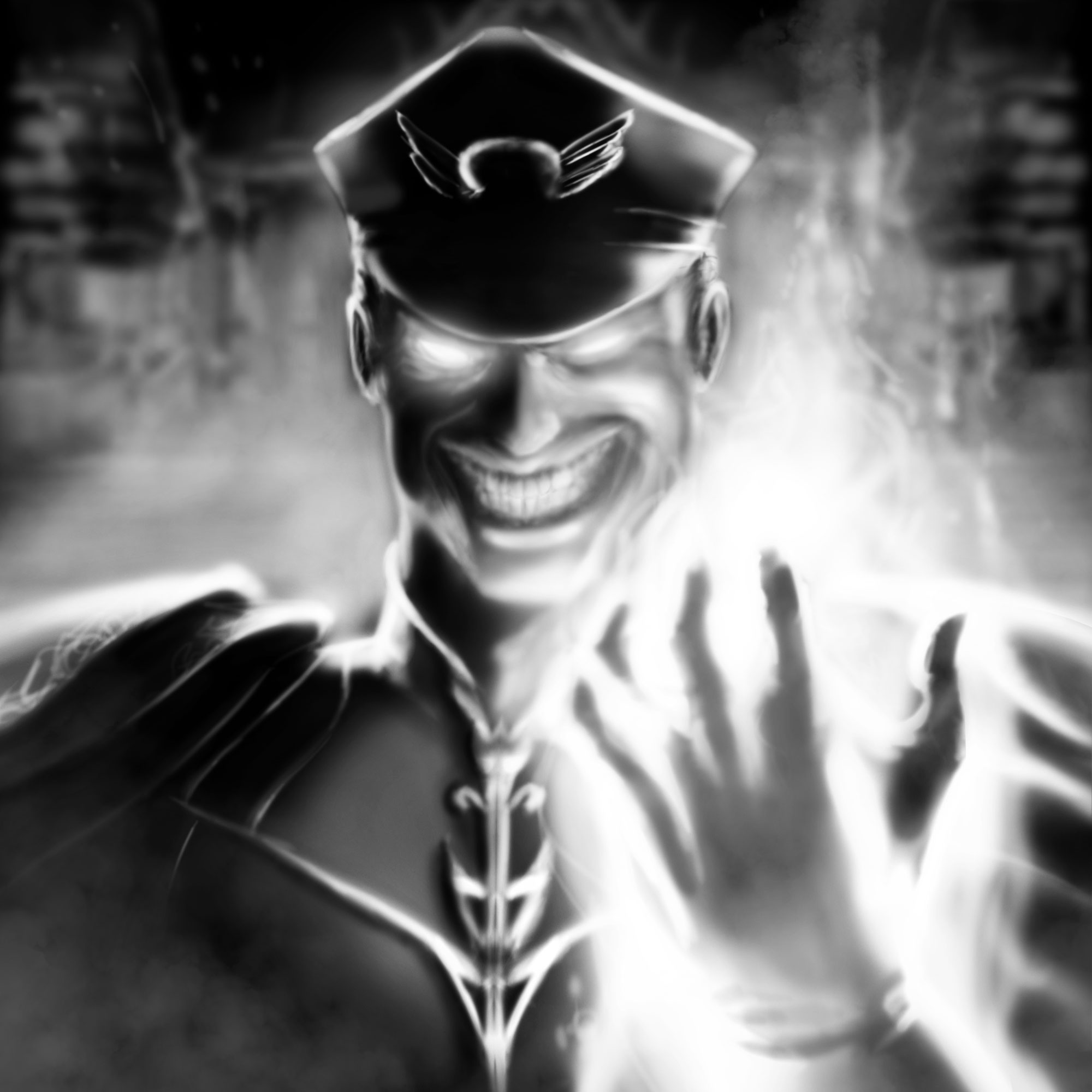 M. Bison - King of Destruction by BaderBadruddin