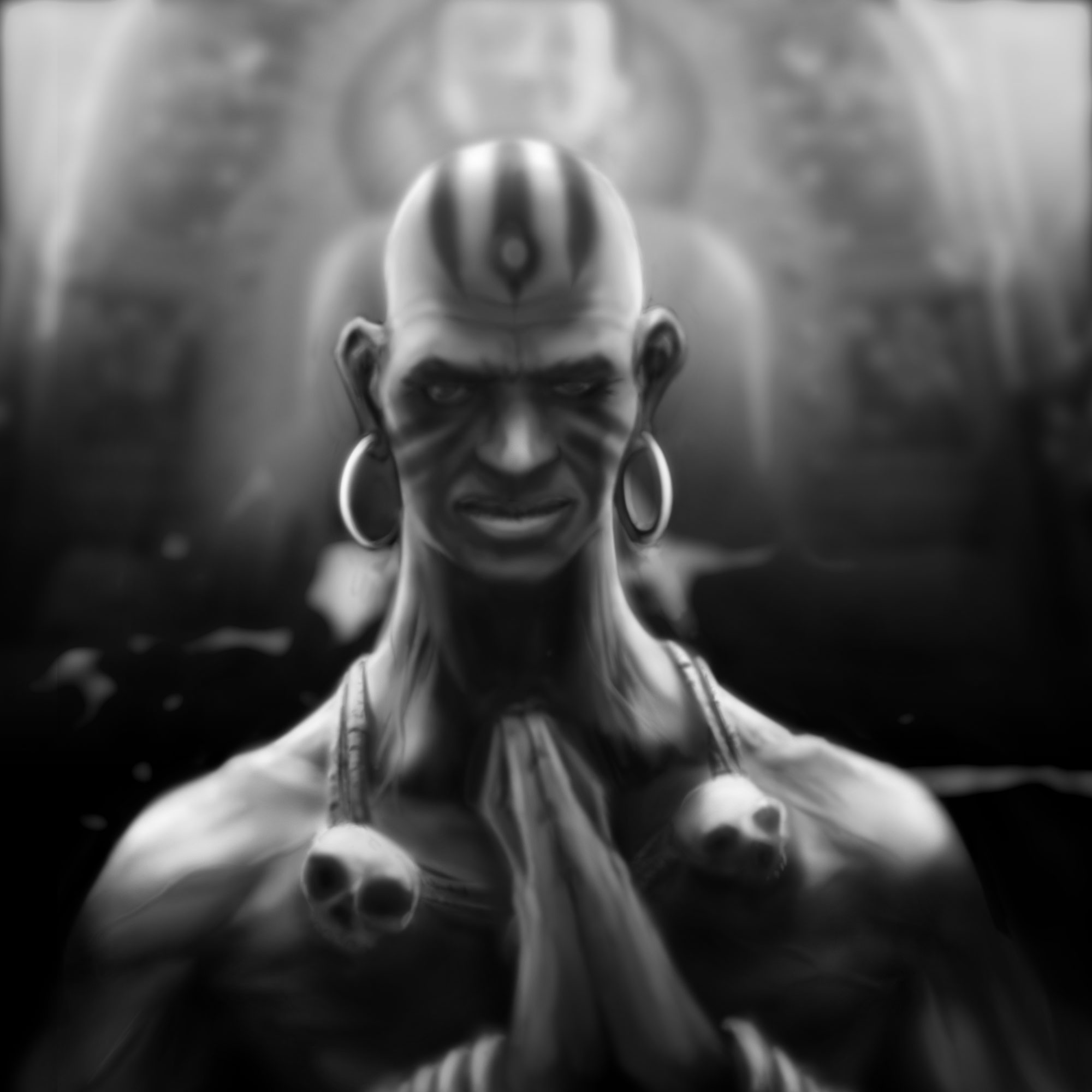 Dhalsim - Mind Over Matter by BaderBadruddin