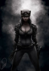catwoman by BaderBadruddin