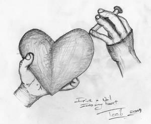 Nail into my heart