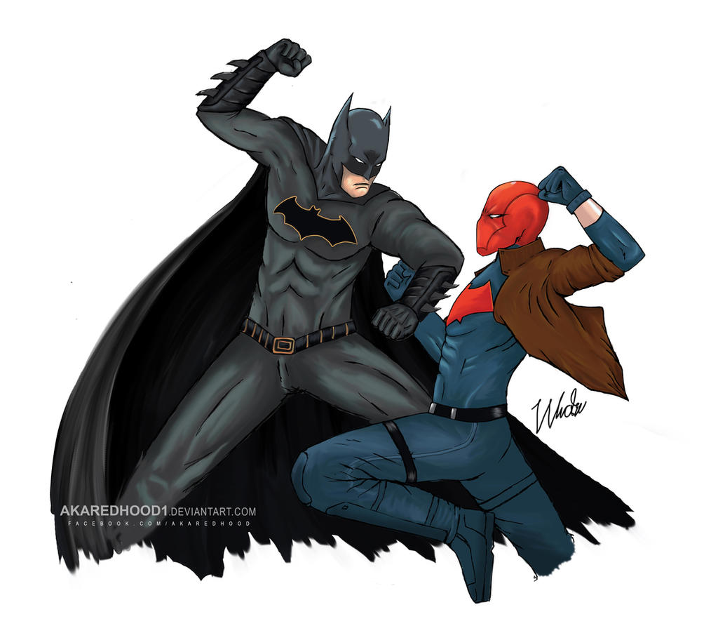 batman vs red hood - photo #14