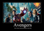 Avengers Motivational Poster