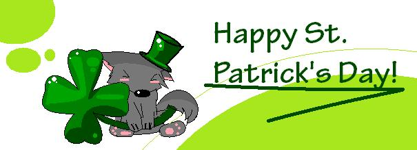 happy st. patrick's day by Wolfsterrr