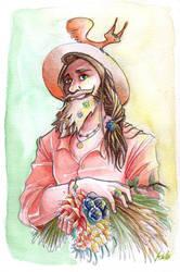 Summer man - Original card by KuroKato