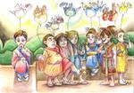 When they were children 02 by KuroKato