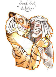 TWD - Ezekiel and Shiva