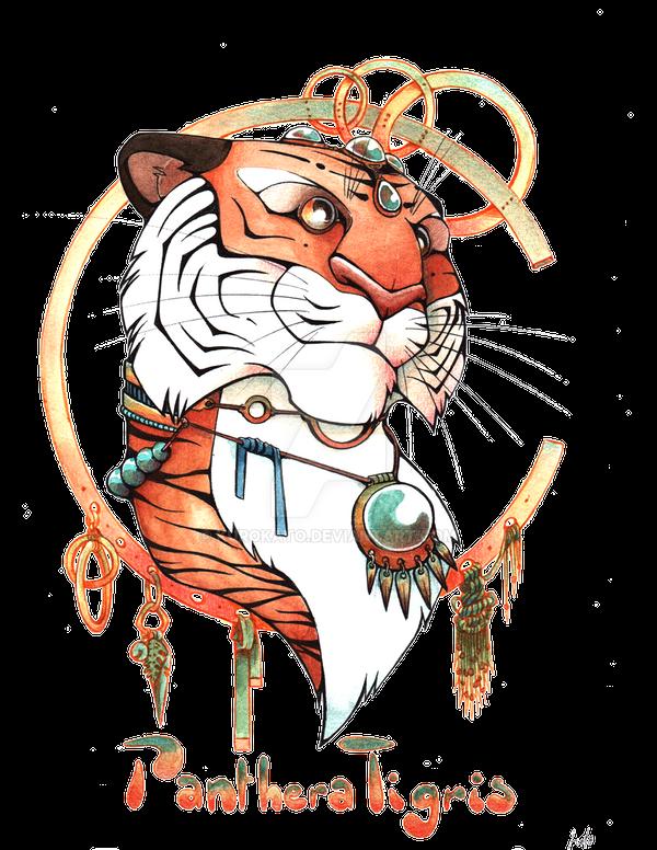 Panthera Tigris by KuroKato