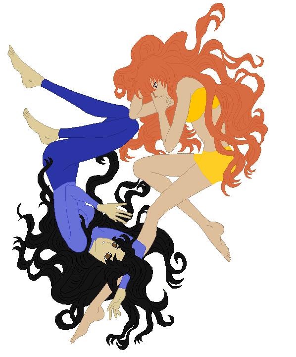 Jasmine x Saleen by wolfgirl924