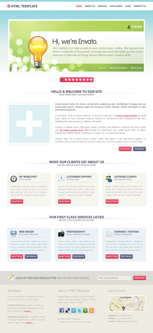 +PLUS HTML for TF by ilove-2-design