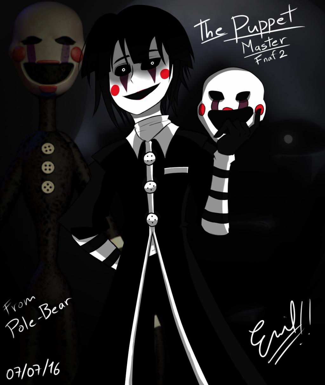 Fnaf 2 Marionette Fanart Fnaf 2 The Puppet Fan ...