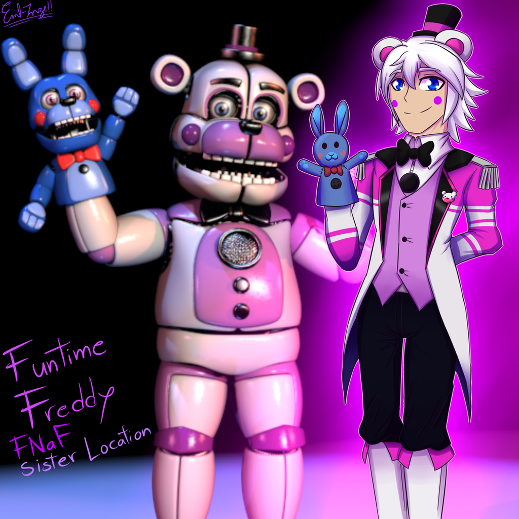 FNaF Sister Location Funtime Freddy By Emil Inze
