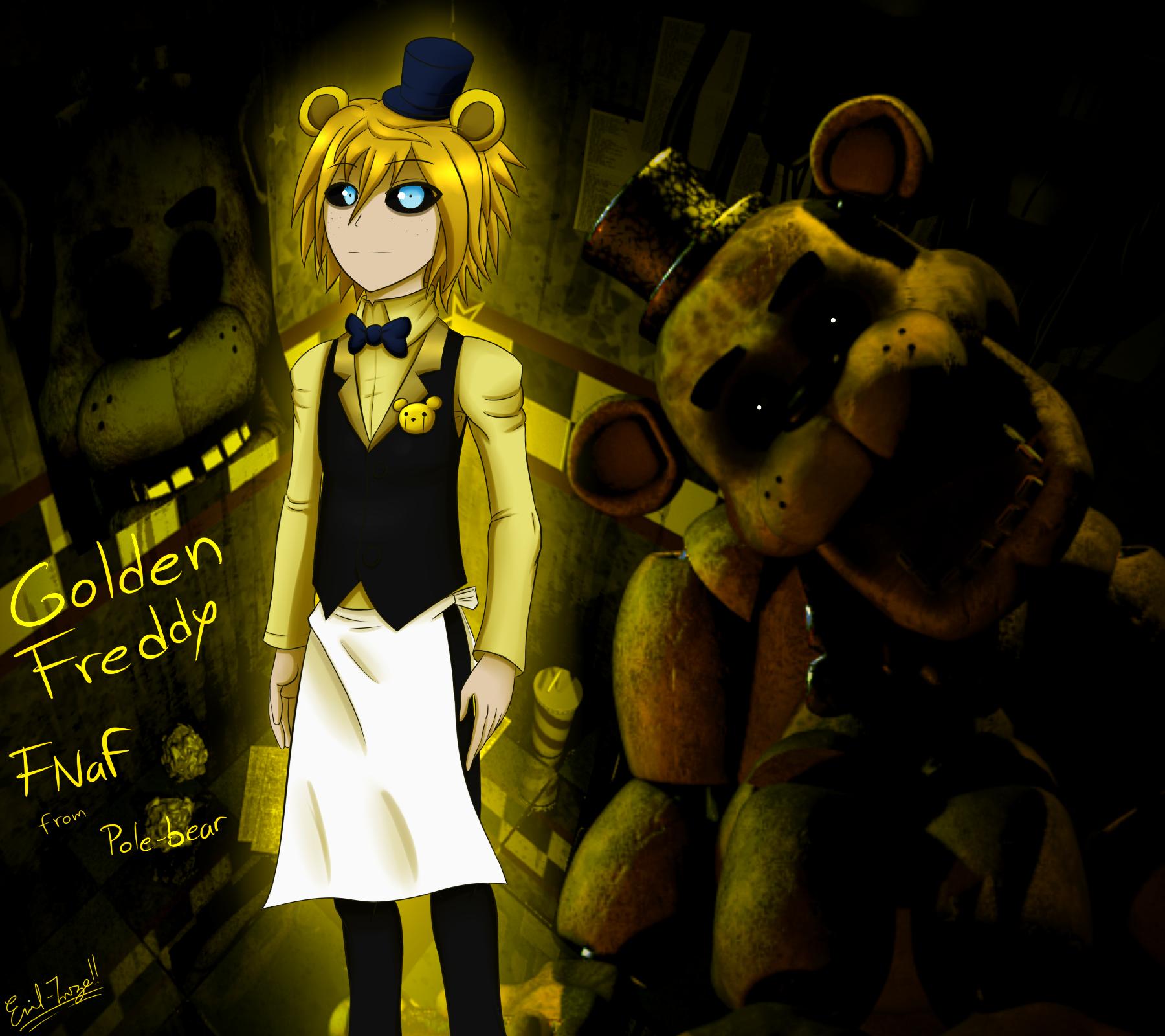 FNaF: Golden Freddy By Emil-Inze On DeviantArt