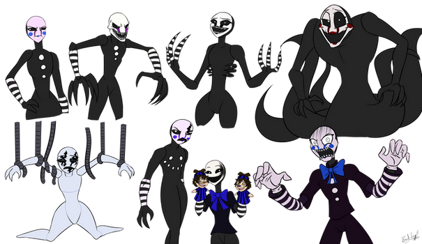 The Marionettes (Fan FNAFNG)