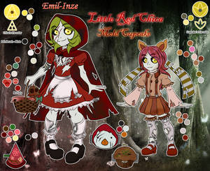 FNAF AR Pole-Bear - Little Red Chica