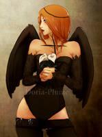 - Winged II - by Doria-Plume