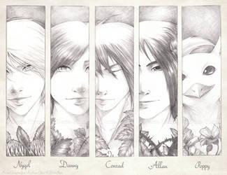 Pencil Portraits :Boys: