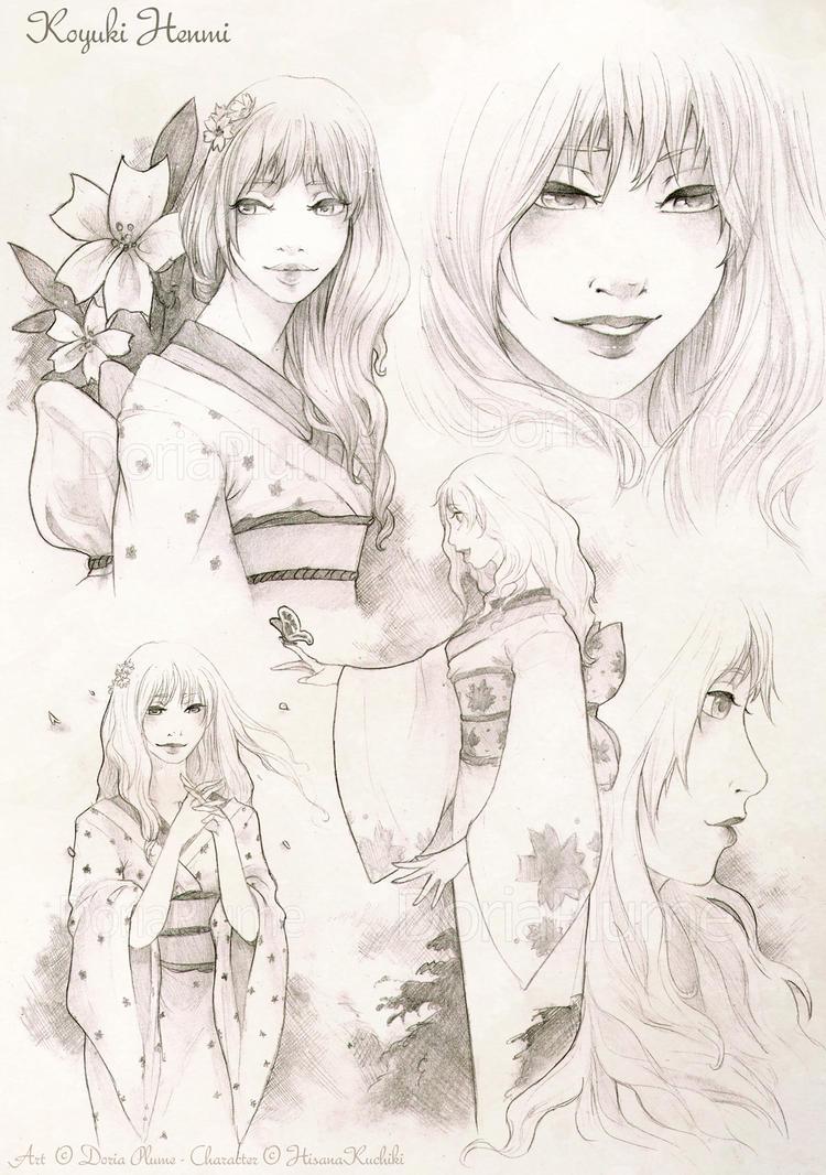 :COM: Koyuki Henmi by Doria-Plume