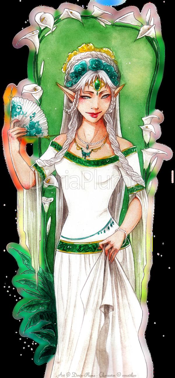 :Gift: Nelyaeth by Doria-Plume