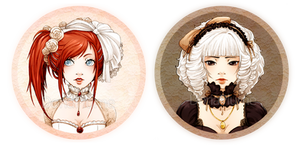:PocketMirrors: Lolita Girls