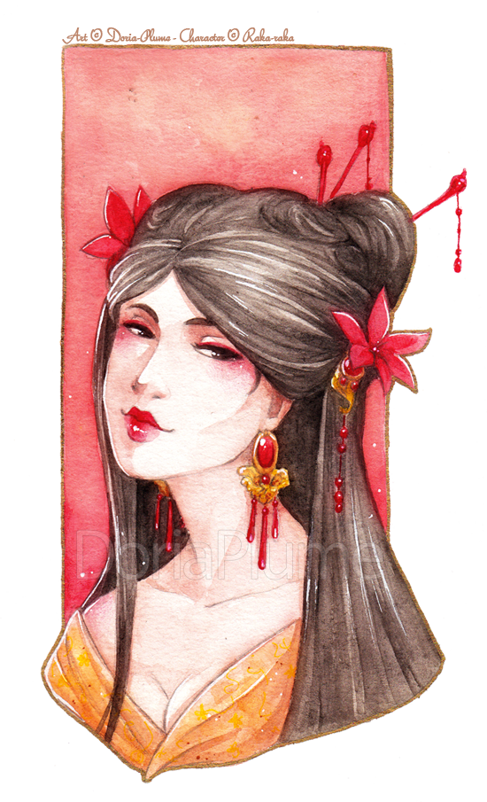 :PRIZE: Scarlet Lily by Doria-Plume