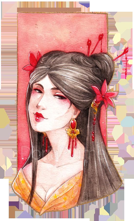 :PRIZE: Scarlet Lily by Doria-Plume