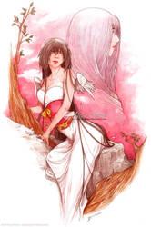 :Gift: Crimson Sky by Doria-Plume