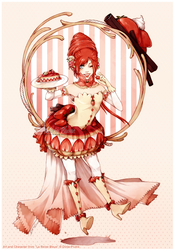 Mademoiselle Fraisier by Doria-Plume