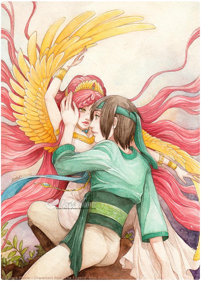 :AT: Emyra and Toji by Doria-Plume