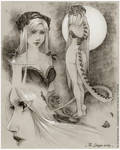 :Gift: The Dragon Lady -Sketches-