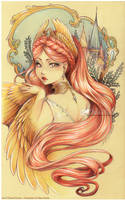 :Gift: Emyra -Tale of the Firebird- by Doria-Plume