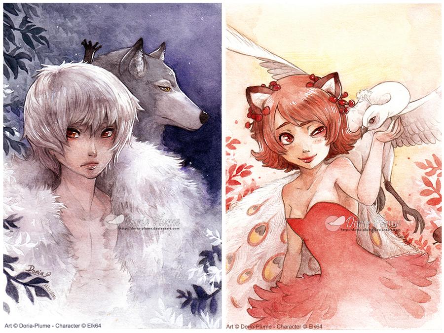 :Gift: Nuit et Jour by Doria-Plume