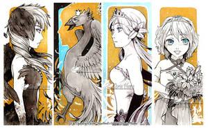 :Inktober: BlueBird's Oath