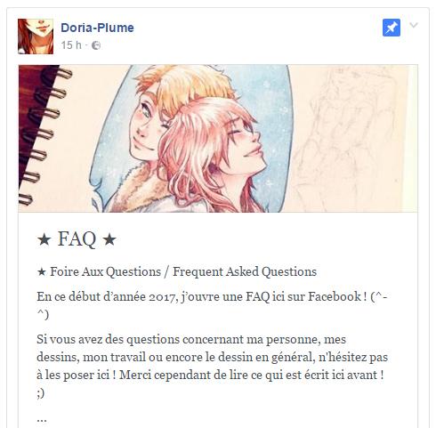 FAQ-Facebook by Doria-Plume